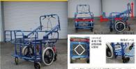 在宅人工呼吸器使用児に対するサイズ可変型設計用車椅子
